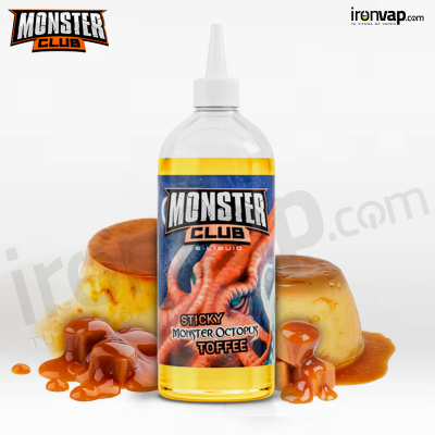 Sticky Monster Octopus Toffee 450ml TPD - Monster Club
