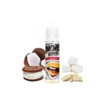 Chewy Coconut Cookies and White Chocolate Smore 60ml - Smores Addict
