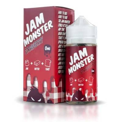 Strawberry 120ml - Jam Monster
