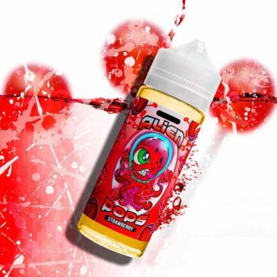 Alien Pops Strawberry 50ml TPD -  Kings Crest