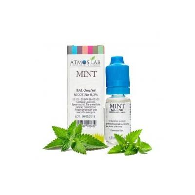 Mint 10ml a 18mg para POD - Atmos Lab