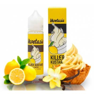 Killer Custard Lemon 50ml TPD - Vapetasia