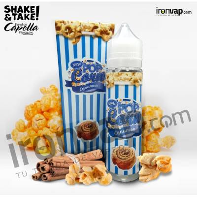 Pop Corn Cinnamon 50ml TPD - Pop Corn