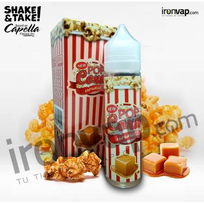 Pop Corn Caramel 50ml TPD - Pop Corn