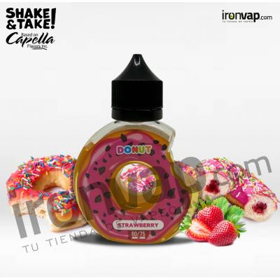 Strawberry 60ml TPD - DONUT