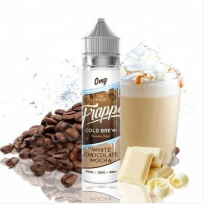 White Chocolate Mocha Frape 50ml TPD - Pancake Factory