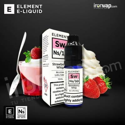 Strawberry Whip Salted 20mg 10ml - Far E-Liquids