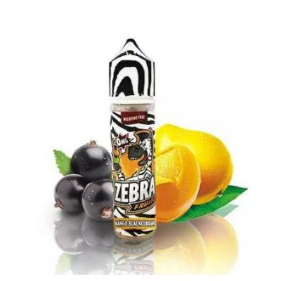 Fruitz Mango Blackcurrant 50ml TPD - Zebra Juice