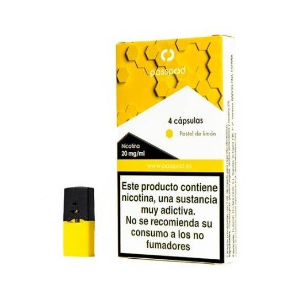 cápsula Pastel de Limón 20mg TPD - Passpod
