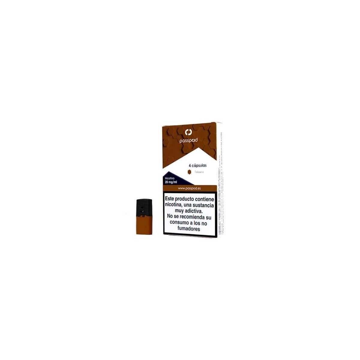 Cápsula Tabaco 20mg TPD - Passpod