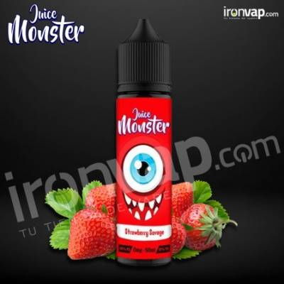 Strawberry Savage 50ml TPD - Juice Monster