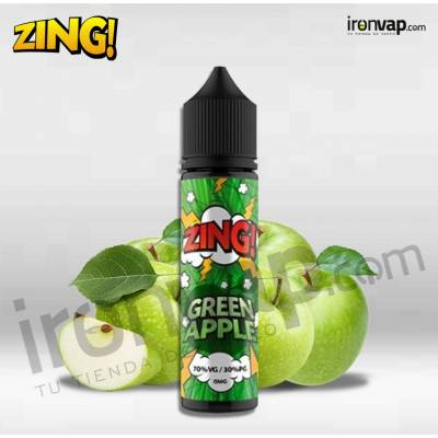 Green Apple 50ml TPD - Zing