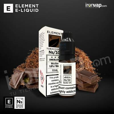 Chocolate 10ml 20mg en Sales - Element E-Liquid