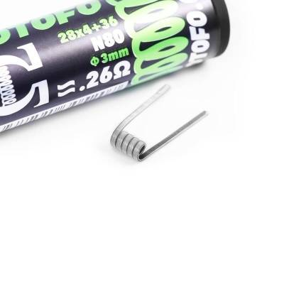 Alien Clapton Ni80 3mm Pack 10uds - Wotofo
