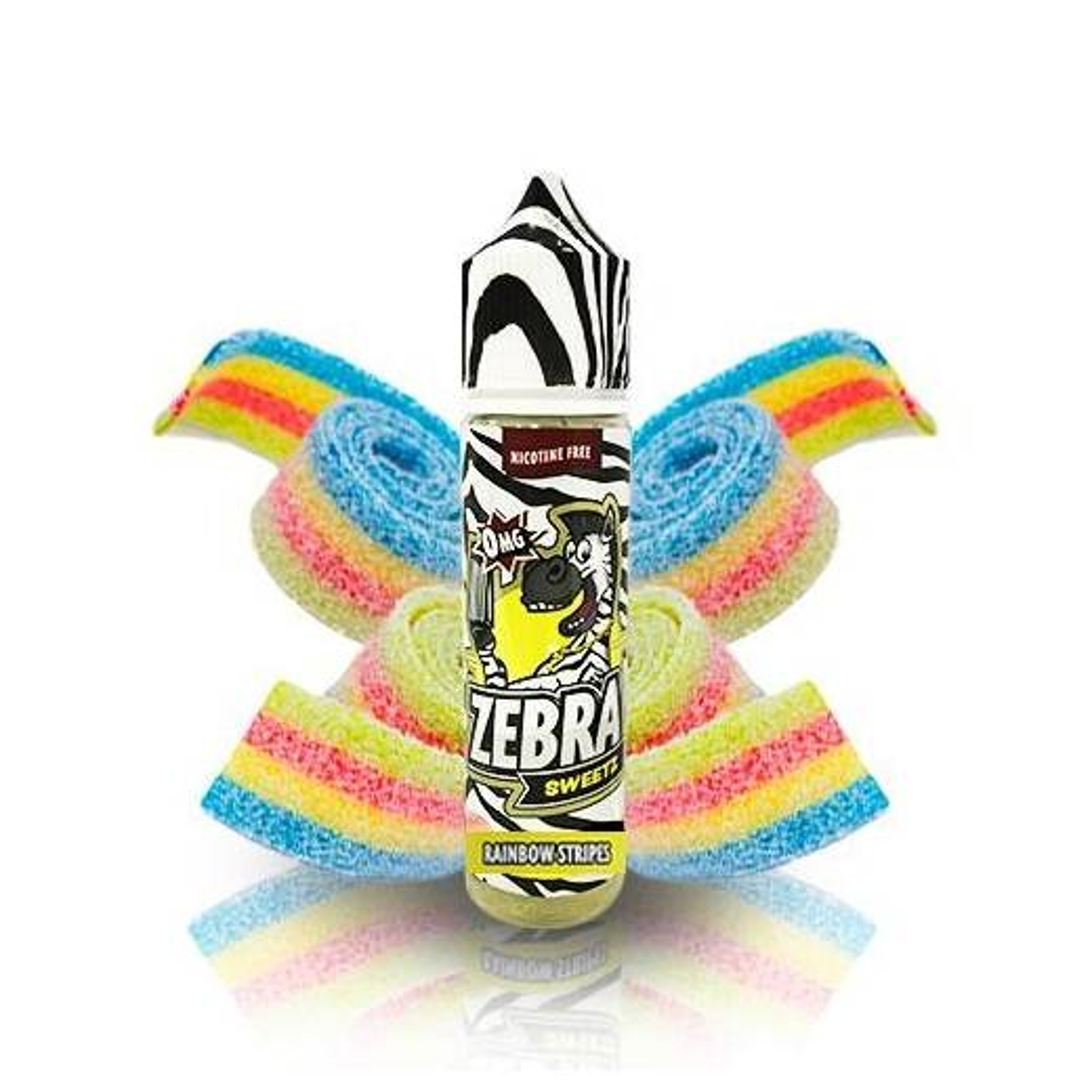 Rainbow Stripes 50ml TPD - Zebra Juice