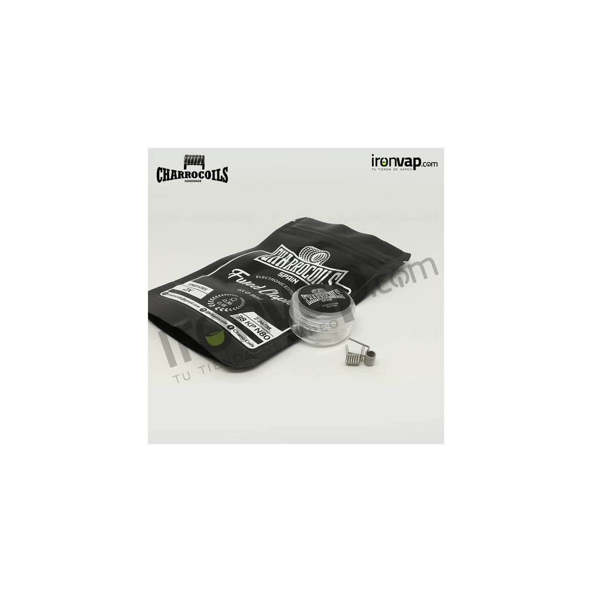 Fused Clapton 0.18Ohm - Charro Coils
