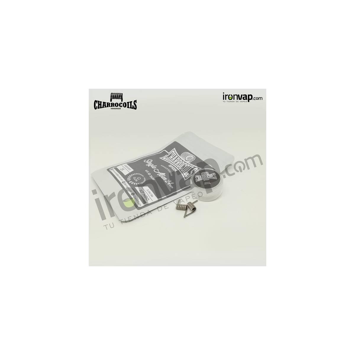 Single 24ga 0.24Ohm - Charro Coils