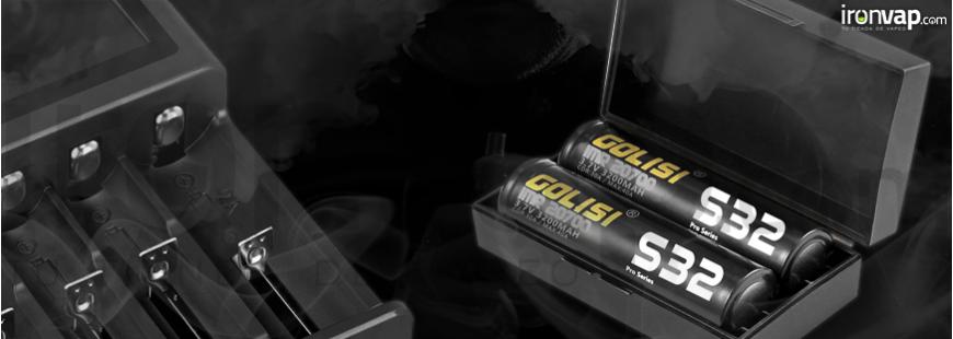 Cargadores y baterias mods de vapeo